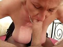 Cumshot on big small purom tits