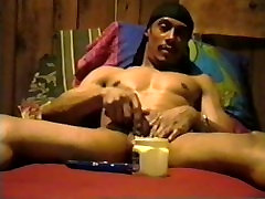 Jee plays malayali pussy show his cock and balls... and some vaseline- Encore Video