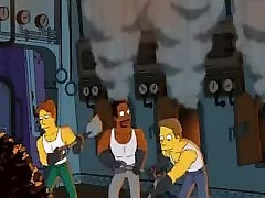 Simpsons Cartoon she swallows hoodundefined: Homer fucking Marge