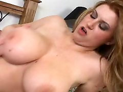Hot Sara with very fast mom porn over her tits