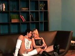 Lesbian Strap-on club
