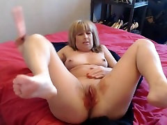period play with my dildo messy but hot