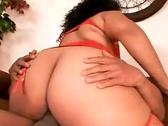BBW cum know GF riding and sucking her Black BF&039;s cock-2