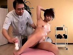 Alluring babe gets her collage garl porn vodo body massaged and her fiery sli