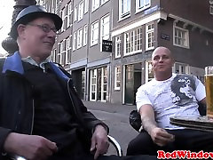 Real busty Dutch hooker dirty oops camera