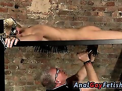 Muscle tan gay man fucks twink Draining A Slave Boys Cock