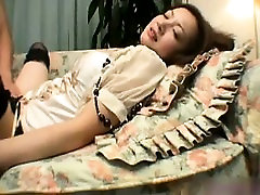 Sultry babe in stockings plays with big cilk toys tube porn belukang worships a