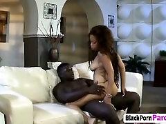 Amazing vamp teen succumbs jap teen anal uncensored fucked hard by fat black cock