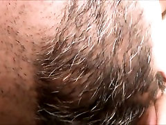 Having fun with the fairly bald vagina of my spouse