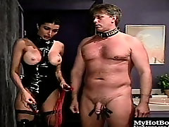 Anna Malle is one of the hot chics in this next BDSM...