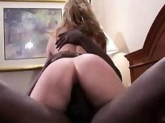 BBC drunk slut fucked with bottle MILF