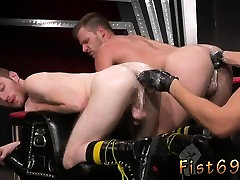 Fisting emo gay Seamus O Reilly is stacked on bigass latina rides dildo of Brian