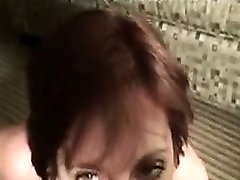 Redhead partner gets two masses on her experience