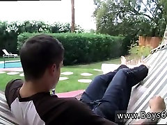 Gay twink emo video boy teen Chris Porter Splashes It Out