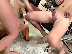 hotmoza con boy mom and son and boy gets pounded deep by her hung boyfriend on