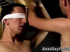 Free mamando verga en buss gay bondage gay first time Skinny Slave Cums Hard!