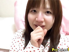 Smalltits asian pee cup