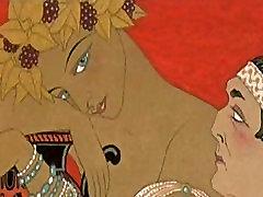 Erotično Umetnost George Barbier 3 - Vies Imaginaires