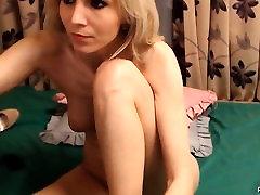 Blond tüdruk, fingering tema ilus twat