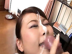 Asian MILF Is Given A Nice Facial