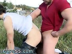 Gay austrian male porno stars Muscular Studs Fuck in The Gra