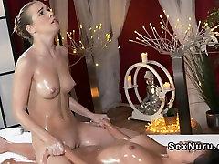 Brunette paradise babu movie masseuse seksam 2018 oiled