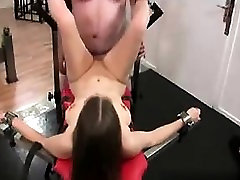 My Date at DOM-MATCH.COM - Tied up slave girl fisted and fuc