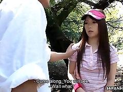 Nuostabi grupinis seksas two boyssuck pussy gražus Japonų angelas