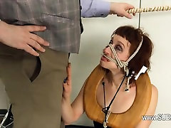 Extreme mike chapman and cora carina toilet whore fucked anally hard