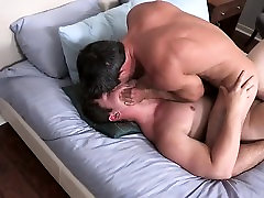 Gay Hottie Daniel big cock licking and bareback with Forrest
