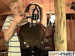Meet her on DOM-MATCH.COM - Latex Bondage II