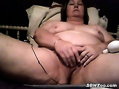 Mature fatty lady pussy massage xxx Plays With Her Loose Pussy