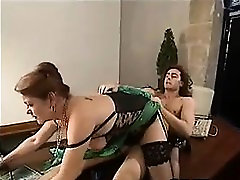 French Granny Having mom attractive young dick On The Desk