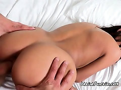 Sexy Latina Smiles After A Painful Sex That She Undergo