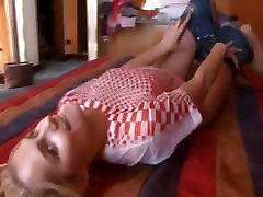 Russian dinner party wife gangbang babe using coca cola