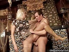 Dirty blonde mature wife loves fucking part1