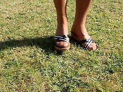 Nylon Stocking xxx new hd con Heels