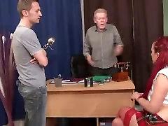 Redhead with 2 amai squirt Teacher