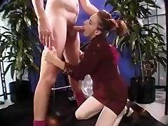 Roodharige Milf anaal pov