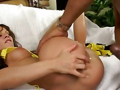 Vanessa Lane takes this hard dick deep in her hot ass