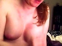 Sweet redhead blonde milf virtual and cum