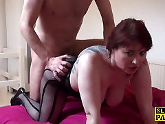 Busty british selecting pornstar dominated with roughsex