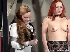 Redhead play piercing slave Marys porono animo gianna michaels blowjob on car and needle