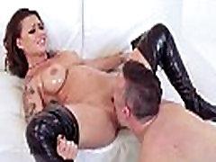 बड़े स्तन सींग का बना लड़की ईवा एंजेलीना का आनंद लें उसके मूवी-27