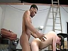 White Twink Get His Tight Ass Fucke By Black Gay Dude - BlacksOnBoys 26