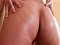 Fervent cutie is gaping tight vagina in close-up and getting off