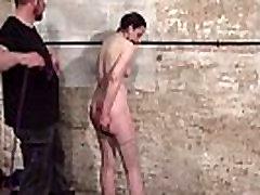 Bondage suženj Caroline Pierce ječo stepanje ameriških fetiš model v stric