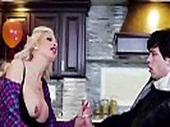 Bigtits Milf Nina Elle gives a Blowjob to Alex