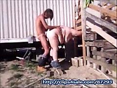 Wife Sucks & Fuck Yardworker Outdoors To Cover Bill Taking disha patani xxxx Creampie