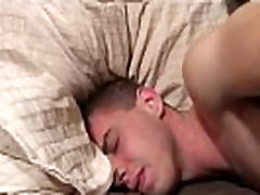 Gay twink strippers Sam heads down on Trent first, kneeling on the